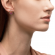Rose Gold & Rose Sapphire Love Me Luxe Earring