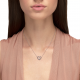 White Gold & Blue Sapphire Love Me Luxe Necklace