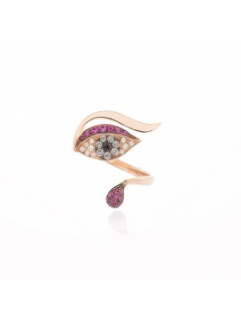 Anello Protect Me Luxe Rosso