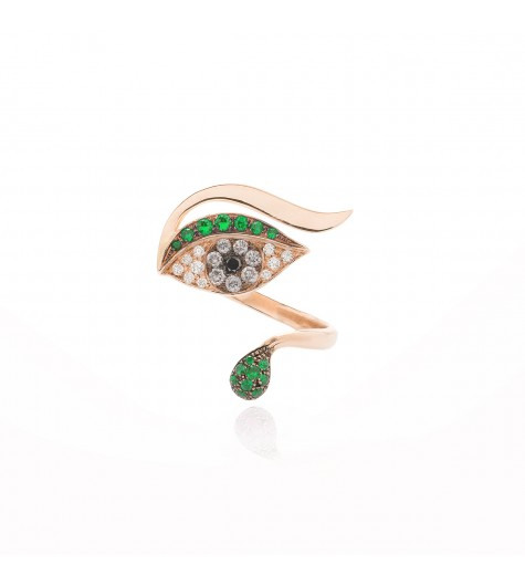 Green Eye Luxe Ring
