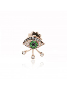 Green Eye Drops Luxe Earring