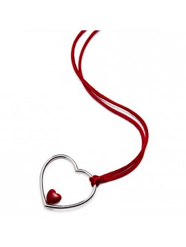 "Necklace ""Guarda con il Cuore"""