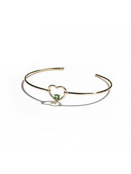 Bracciale Love Me Luxe in Oro Rosa & Smeraldo