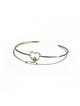 Rose Gold & Emerald Love Me Luxe Bracelet