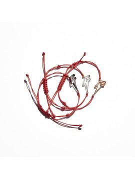 Gold Dj Flash Cord Bracelet
