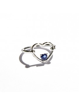 Blue Love Me Luxe Ring