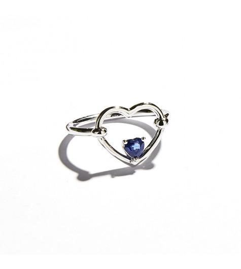 Anello Love Me Blu Luxe